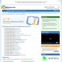 Premios Bitacoras.com 2012 - Presentación