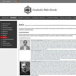 Premios - Fundación Pablo Neruda