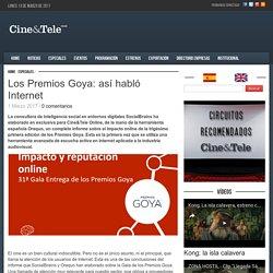 Los Premios Goya: así habló Internet