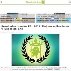Premios EAL 2014: Mejores aplicaciones y juegos del año
