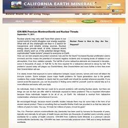 CALIFORNIA-EARTH-MINERALS