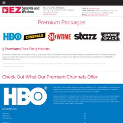 Premium Movie Channels and Packages from DISH