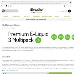 buy high vg e liquid uk