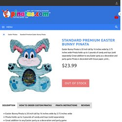 Premium Easter Bunny Pinata
