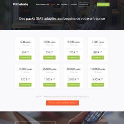 Tarifs SMS Premium en France et à l'étranger - Primotexto