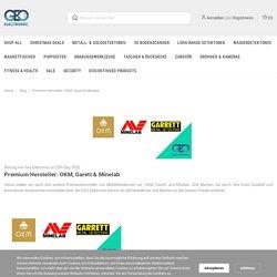 Premium Hersteller: OKM, Garett & Minelab - Geo-Electronic GmbH