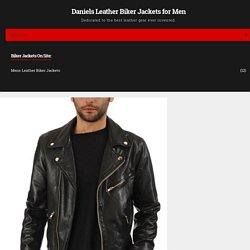 Premium Leather Mens Genuine Lambskin Biker Jacket