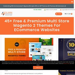 45+ Free & Premium Multi Store Magento 2 Themes Collection