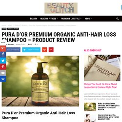 Pura D'or Premium Organic Anti-Hair Loss Shampoo - Beauty Glitch