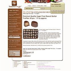 Premium Quality Sugar Free Peanut Butter Truffles 30 pcs - 17 oz approx