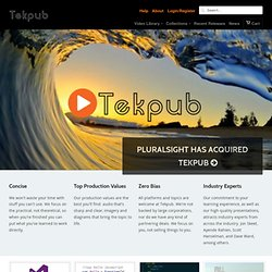 TekPub - High-quality screencasts for programmers.