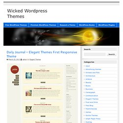 Best Wordpress Themes | Download Free Premium High Quality Wordp
