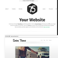 The Relay WordPress Theme Demo