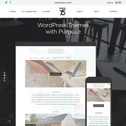 Press75.com | Exceptional WordPress Themes