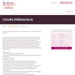 Cours prénataux - Bougeotte et Placotine