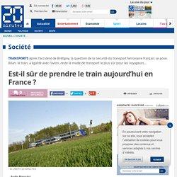 Est-il sûr de prendre le train aujourd'hui en France