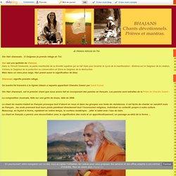 Je prends refuge en Toi - Bhajans chants devotionnels
