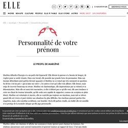 Prénom Marlène : personnalité du prénom Marlène
