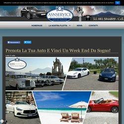 Prenota la tua auto e vinci un week end da sogno! - Auto Sposi Napoli