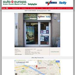 Prenotazione - Autonoleggio AutoEuropa - Sicily By Car - il noleggio auto alle tariffe più convenienti!