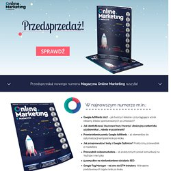 Prenumerata Online Marketing Polska