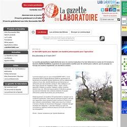 GAZETTE LABO 14/03/17 Un test ADN rapide pour dépister une bactérie préoccupante pour l'agriculture - Evry (Essonne), le 13 mars 2017 La société génopolitaine Agdia-Biofords lance la commercialisation d'un test détectant en moins de 30 minutes la bactérie