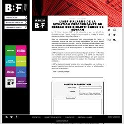 L'ABF s'alarme de la situation préoccupante du réseau des bibliothèques de Sevran