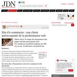Site d'e-commerce : une chute préoccupante de la performance web