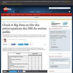 Cloud et Big Data en tête des préoccupations des DSI du secteur public - ZDNet