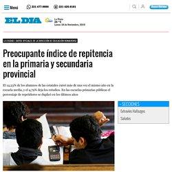Preocupante índice de repitencia en la primaria y secundaria provincial - La Ciudad