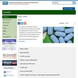 PrEP - HIV Basics - HIV/AIDS