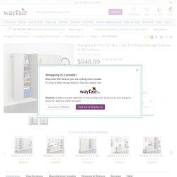 Prepac HangUps 6' H x 7.5' W x 1.33' D 4 Piece Storage Cabinet G Set