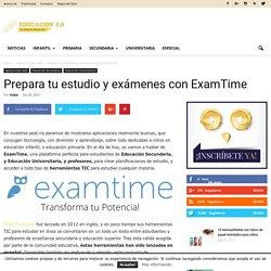 Prepara tu estudio y exámenes con ExamTime