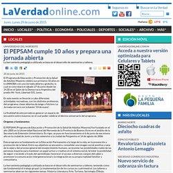 El PEPSAM cumple 10 años y prepara una jornada abierta - Locales - Diario La Verdad