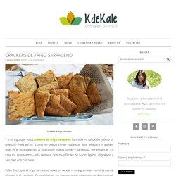 como preparar unos crackers de trigo sarraceno sin gluten