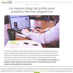 Los mejores blogs de profes para ayudar a preparar distintas asignaturas
