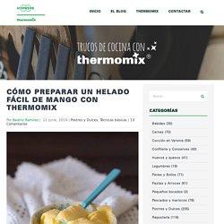 Cómo preparar un helado fácil de mango con Thermomix - Trucos de cocina Thermomix