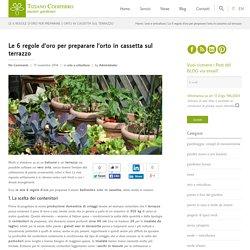 Le 6 regole d'oro per preparare l'orto in cassetta sul terrazzo - Codiferro Master Gardener