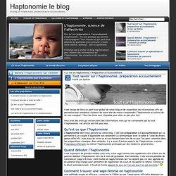 Tout savoir sur l'haptonomie, préparation à l'accouchement