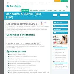 Préparation aux concours A BCPST BIO et A BCPST ENV