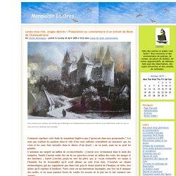 Monplaisir Lettres - Levez-vous vite, orages désirés ! Préparation au commentaire d'un extrait de René de Chateaubriand