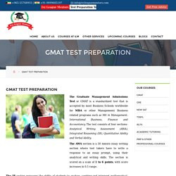 Looking For Gmat Test Prep Centre in Kuwait