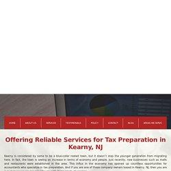 Tax Preparation and Consultations Kearny NJ