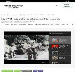 5 juin 1944 : préparation du débarquement de Normandie