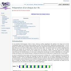 Préparation d'un disque dur 4k - Funtoo-Quebec