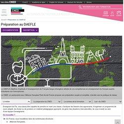 DAEFLE : préparation à distance du diplôme référence