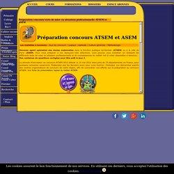 Préparation aux concours : ATSEM et ASEM