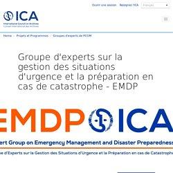 Experts sur la gestion des situations d'urgence et la préparation en cas de catastrophe (EMDP)
