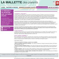 La préparation - Mallette des Parents