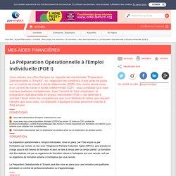 POE I - La Préparation Opérationnelle à l'Emploi